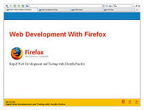 Rapid Web Devlopment with Mozilla Firefox